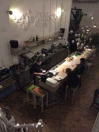 Restaurant Marks: Vue de l'étage