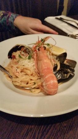 Restaurang Ester : Seafood spaghetti.  Great!
