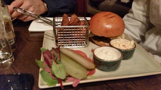 Restaurang Ester : Hamburger