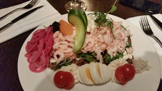 Restaurang Ester : Shrimp Sandwich