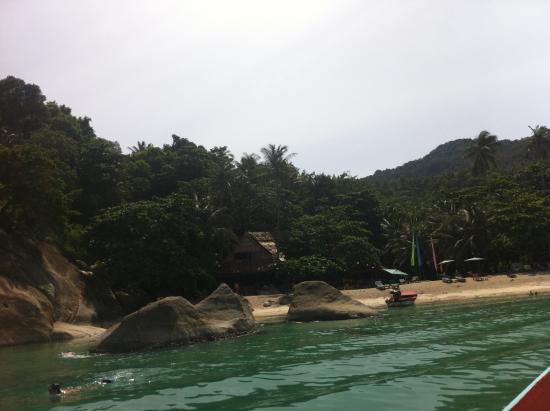 The Sanctuary Thailand: arrivée sur la plage