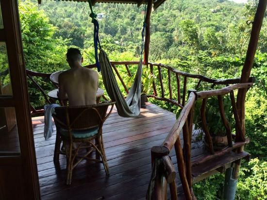 The Sanctuary Thailand: balcon