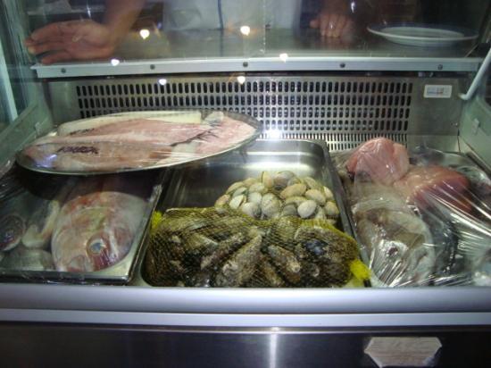 Restaurante Grill El Cenador : Gran, surtidos de pescado de la costa canaria