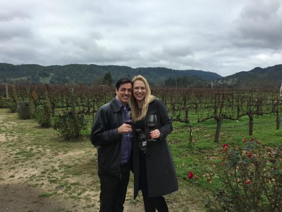 Knight Wine Tours: one of 4 stops