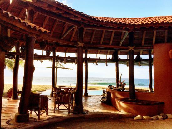 Playa Viva: Entrance/common area