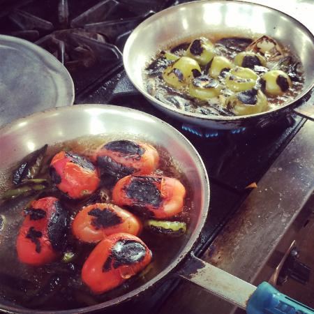 Playa Viva: Salsa cooking lesson