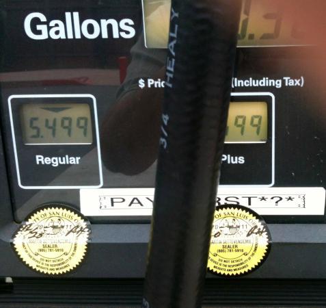 Big Sur Station: BIG SUR GAS PRICING