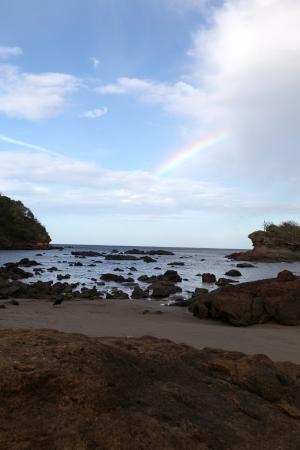 Giant's Foot Surf: Rainbow - Playa Gigante Nicaragua
