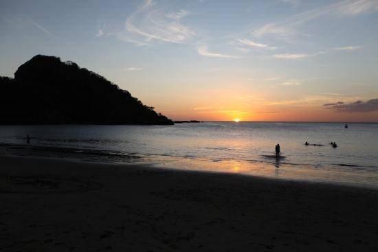 Giant's Foot Surf: Sunset - Playa Gigante Nicaragua