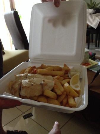 Pete's Place: Barramundi & Chips $17