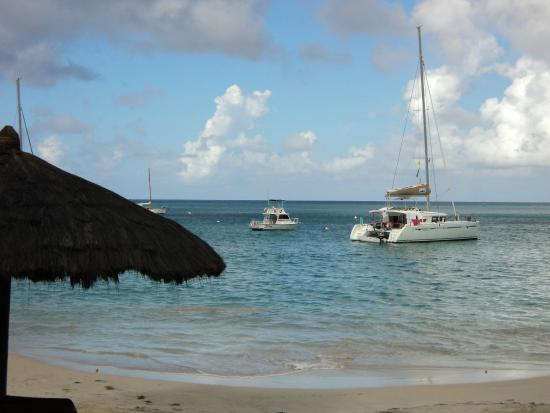 Charlestown, Canouan: View from our room