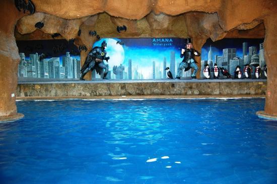 Amana Waterpark : Batman Cavepool