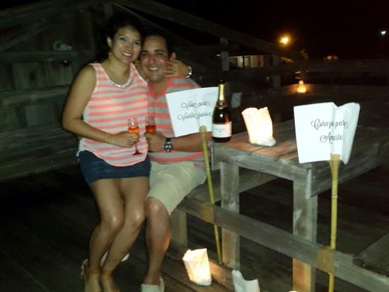 Driftwood Cafe: the proposal in Driftwood Utila