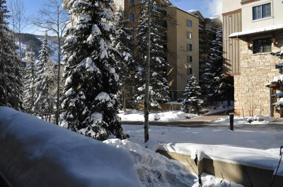 Westwind at Vail: view from exit door