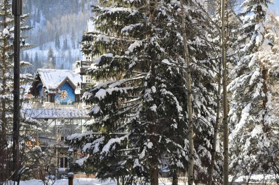Westwind at Vail: balcony view close up