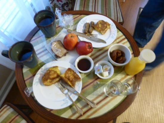 New Church, Вирджиния: This is the actual representation of breakfast.