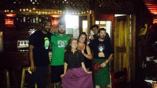 Jungle Love Cafe: La team plus que très sympa du jungle love