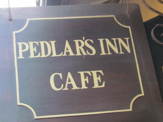 Pedlar's Inn Cafe : restaurant