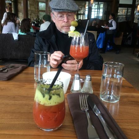 St. Regis Bar at Deer Valley: These Blood Mary's are Great!