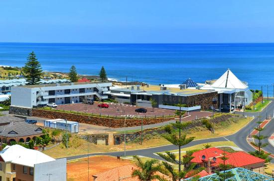 Quality Hotel Lighthouse: Aerial view of our refurbished back block