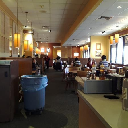 Panera Bread Seating Area In Rolla