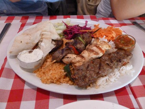 Mixed grill picture of anatolia restaurant toronto for Anatolia mediterranean cuisine