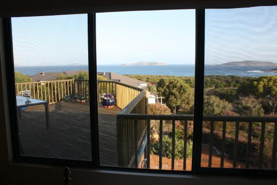 Esperance B & B by the Sea : View from the top floor bedroom