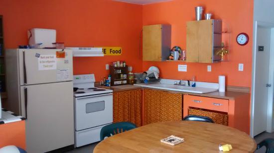 Cloudcroft Mountain Park Hostel : Kitchen