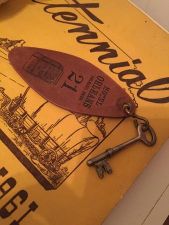 Orleans, เนบราสก้า: LOVE the old skeleton key