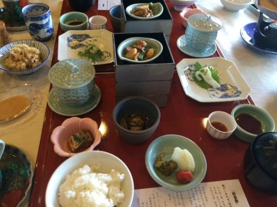 Komatsukan Kofutei : 朝食