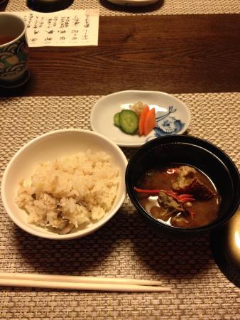 Homarenohikari Mizuki : 伊勢海老の味噌汁