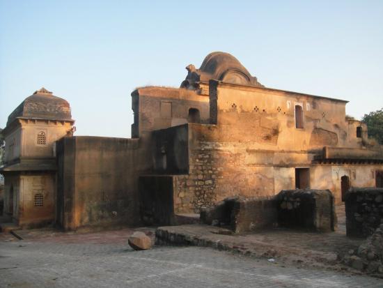 Orchha, India: Dauji Ki Kothi