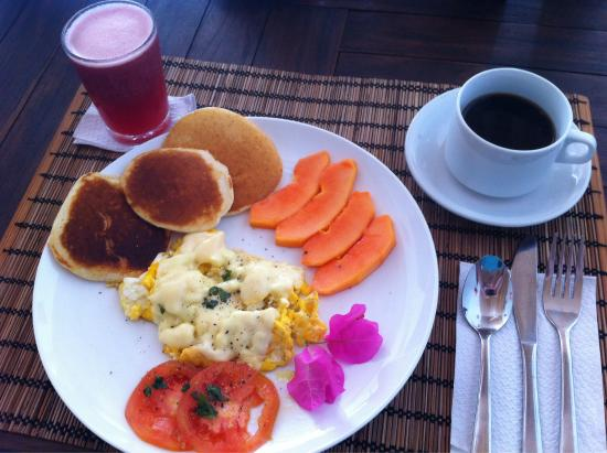 Playa Tranquilo: Perfect breakfast