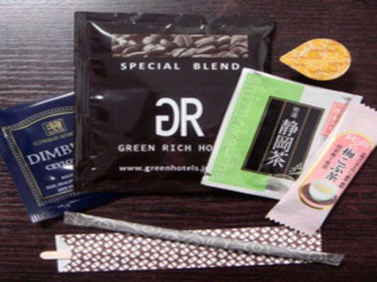 Green Rich Hotel Oita Ekimae : 無料アメニティ