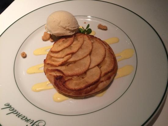 Girandole: Nice dessert