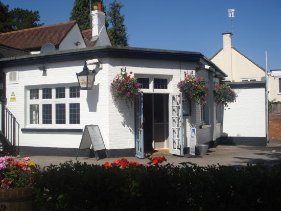 The White Lion Inn: la vue du restaurant