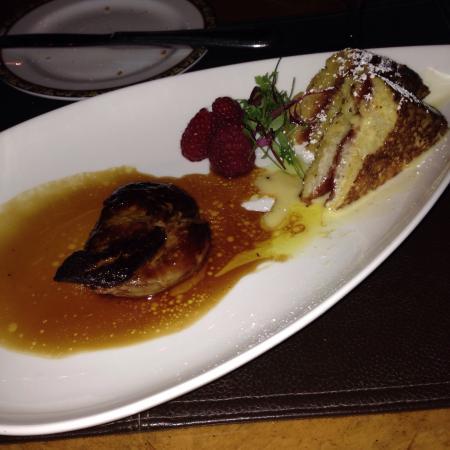 Zach's Cabin: Foie gras