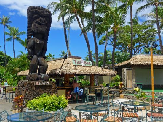 Kaanapali Beach Hotel Tiki Bar