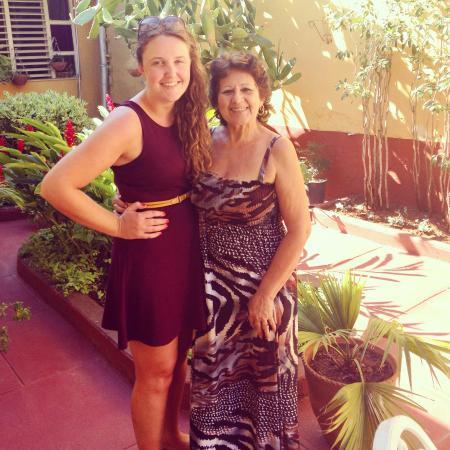 Hostal Antonio y Mary : Mary, my Cuban mama