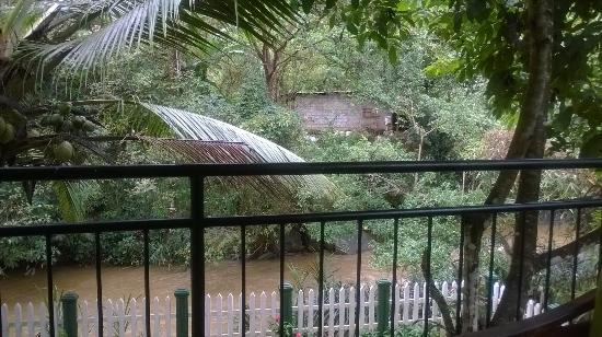 Kandy Guest House: View from Balcony