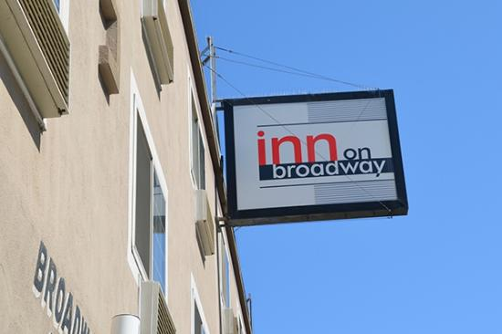 Inn On Broadway Sign