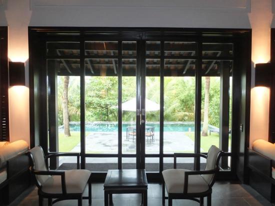 Nam Hai Hotel: ヴィラから