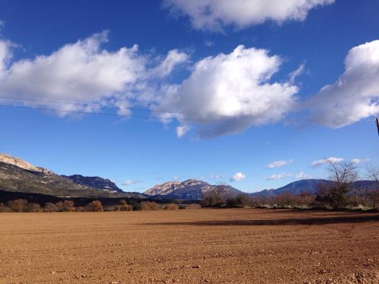 Ager, إسبانيا: Paisaje