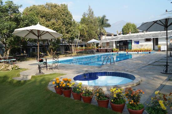 Pool Area Picture Of Hotel Barahi Pokhara Tripadvisor