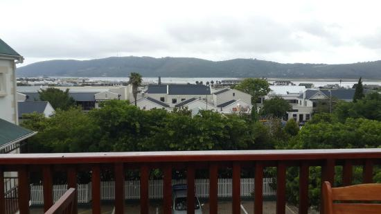 Knysna Manor House: This was the view from the deck