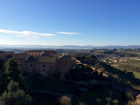 Il Chiostro del Carmine: La vista dall'hotel...!