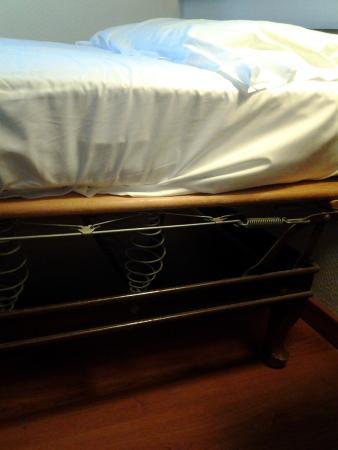 Hotel Piccadilly: Letti e rete scomoda