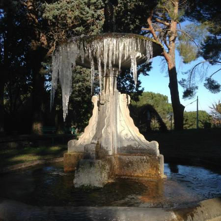 La Dimora di Vitorchiano: Fountain beside the Dimora