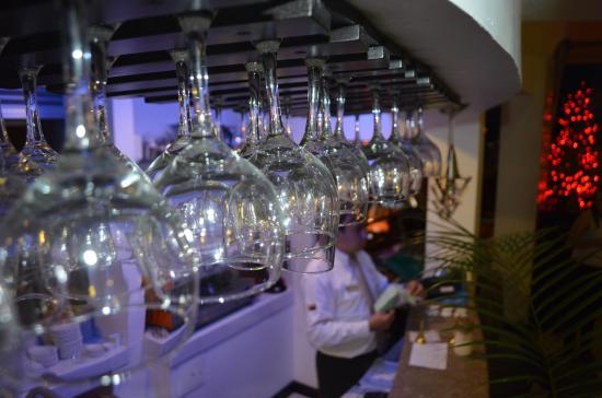 Hotel Bolivar Plaza: restaurante