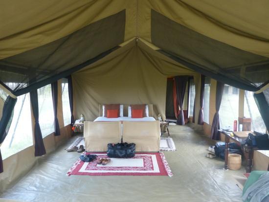 Olakira Camp, Asilia Africa: our tent